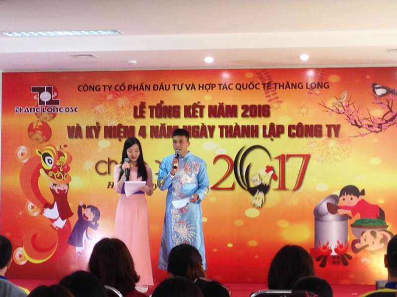 The closing ceremony 2016 and commemorating 4 foundation years of Thang Long OSC.