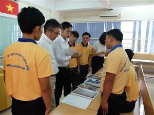 Thang Long OSC's trainee took an exam for construction order working in Japan 2