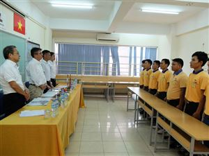 Thang Long OSC's trainee took an exam for construction order working in Tokyo, Japan