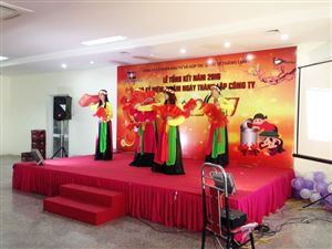 The commemorating 4 foundation years of Thang Long OSC.